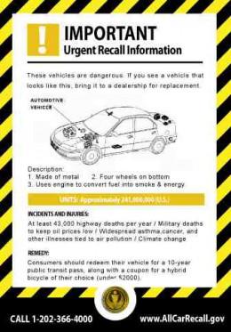 car recall public domain