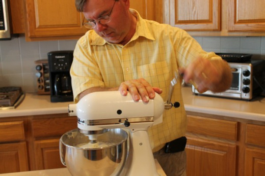 Kitchen Aid Hand Crank Conversion