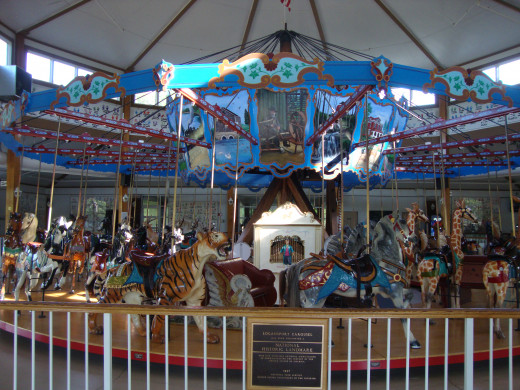 The Cass County Carousel is a National Historic Landmark