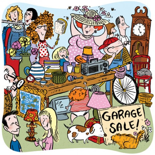 Garage Sales can be profitable for the buyer too.