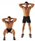 Squat Jumps - 7 Minute Plyometric Workout