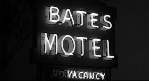 Norman Bates was the killer with a multiple personality in he Alfred Hitchcock film called Psycho.