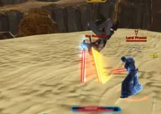 SWTOR Defeat Lord Praven in Desert Duel