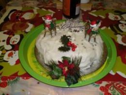 My Christmas Cake.