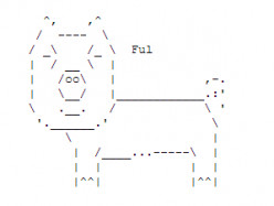 Year of the Boar: Happy New Year ASCII Text Art