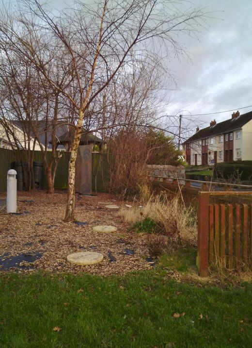 A millennium garden created by Cilgerran School