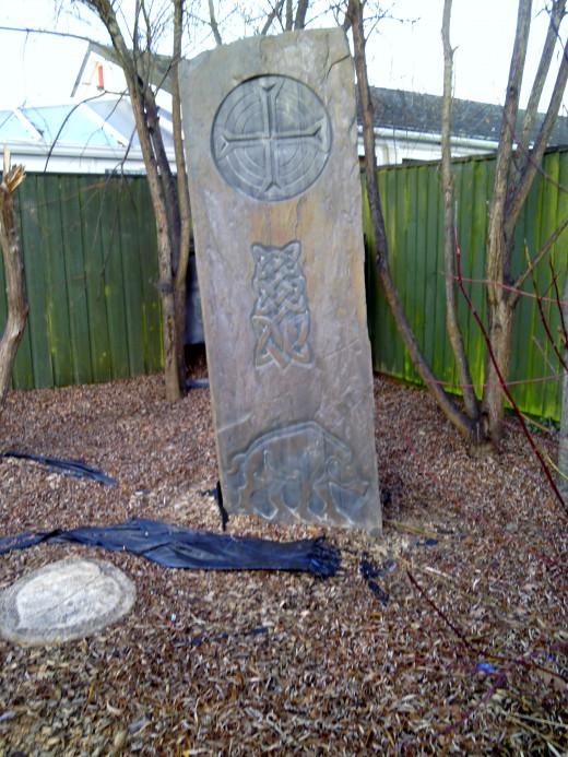 A Celtic Stone.