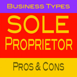 A sole proprietorship may be just the business type that is right for you and your business.