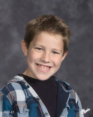 Grandson Adam (Jones) Mayer