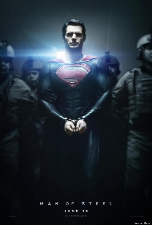 Theatrical poster for Man of Steel (2013)
