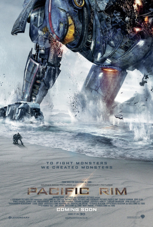 Theatrical poster for Pacific Rim (2013)