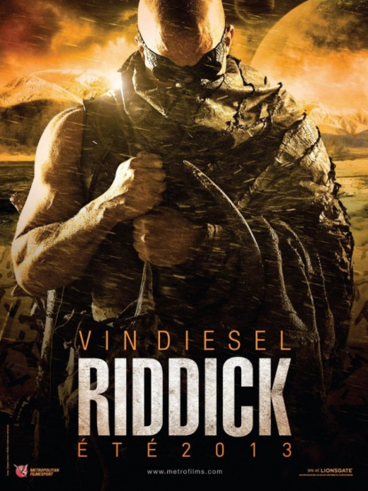 International poster for Riddick (2013)