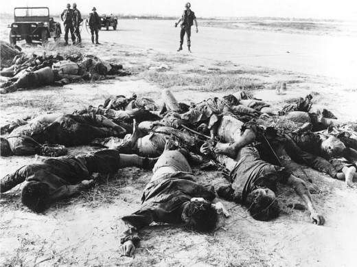Enemy Dead after the Tet Offensive