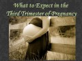 How to Survive the Third Trimester: The End of Pregnancy