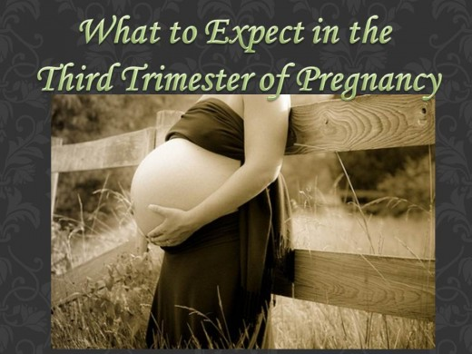Learn what you can expect in the third trimester of pregnancy.