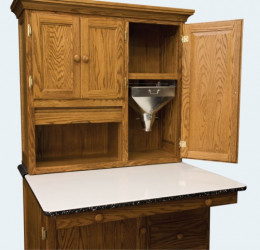 Vintage Amish Reproduction Cabinet