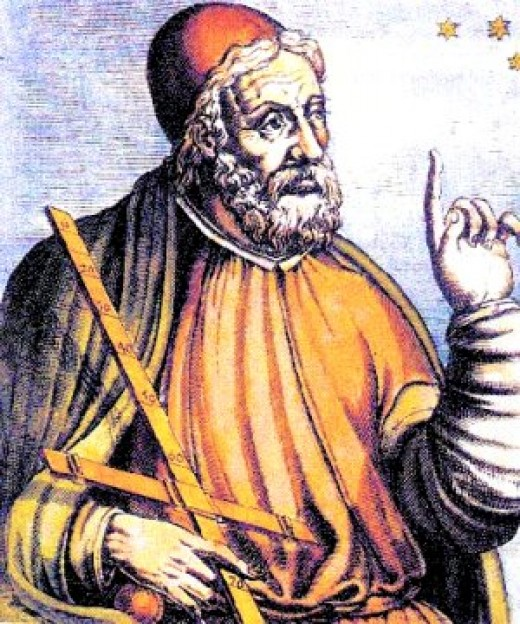 Artists conception of Ptolemy.