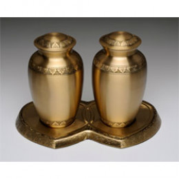 Athena Gold Companion Urns
