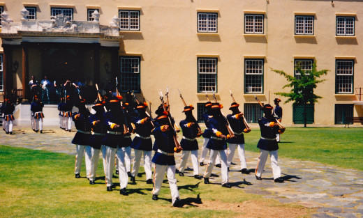 Soldiers Drill