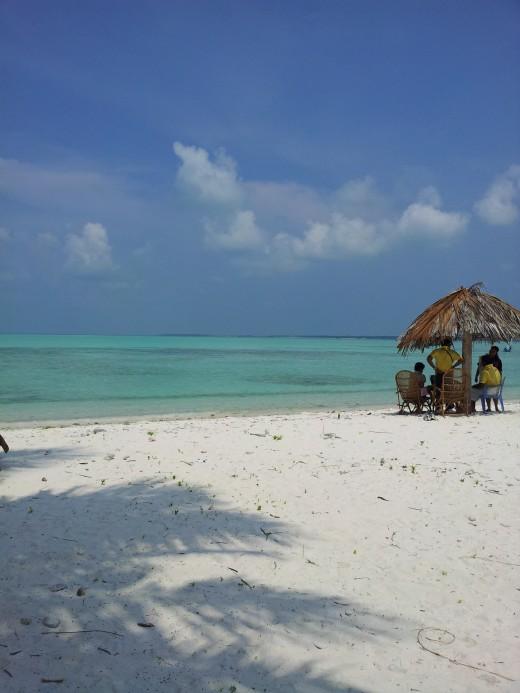 Minicoy Beach resort