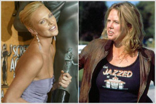 Charlize Theron underwent a monster transformation to prepare for the role of Aileen Wuornos