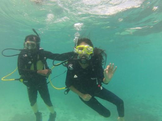 Scuba Diving at Kavaratti