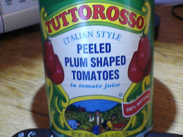 Good quality canned tomatoes can sub for fresh in sauce.