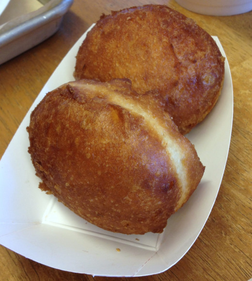 People come from miles around to enjoy the home-made fried bisquits.  You can't just eat one!
