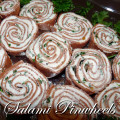 Salami Pinwheels with Cream Cheese Recipe