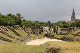 Bordeaux's Roman amphitheater