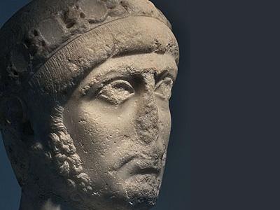 Ausonius's student, Emperor Gratian