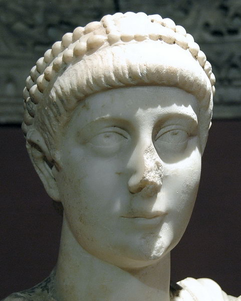 Valentinian II, statue at Aphrodisias
