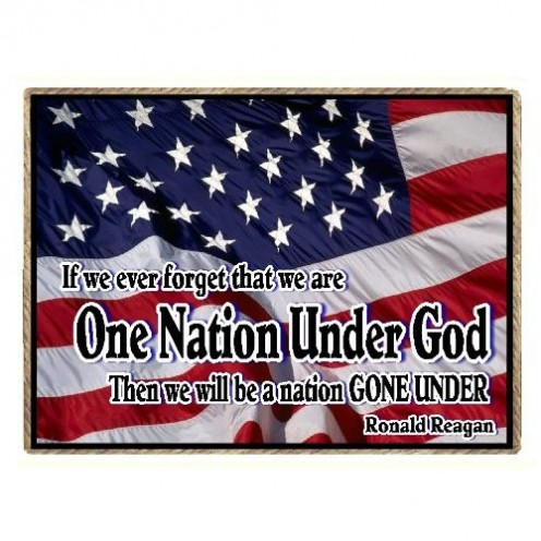 Amen!      One Nation Under GOD!   This country needs to believe this again!!!!