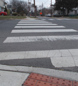 Crossing at a crosswalk can be dangerous, no matter what the law says.