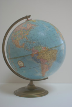 Everything you wanted to know about terrestrial globes but were afraid to ask