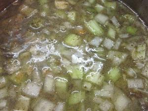 Soup starter preparation