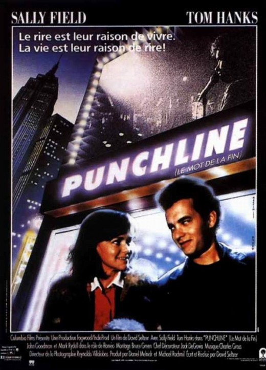 Punchline (1988) French poster