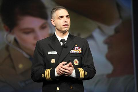 Scott Giberson —Chief Professional Officer, Pharmacy; Director, Division of Commissioned Corps Personnel and Readiness; and U.S. Assistant Surgeon General—supports provider status for pharmacists with his landmark U.S. Public Health Service Report