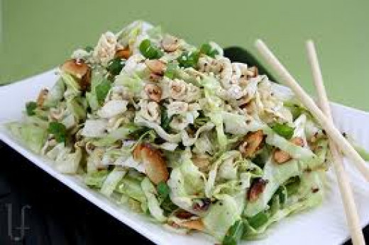 This is the perfect salad for a light dinner or a side dish.