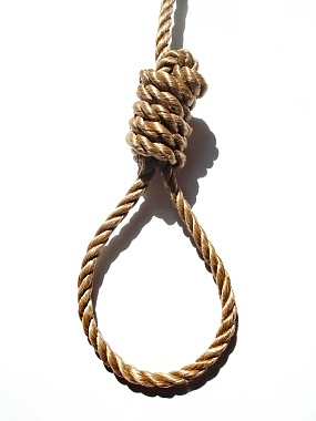 Think the above symbols of justice should be changed to this noose!