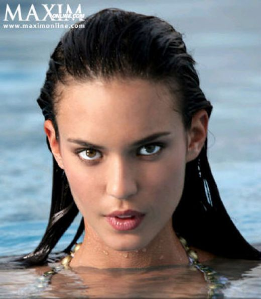 Odette Yustman Maxim poster