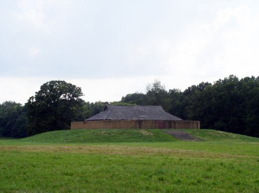 Angel Mounds is located in southwestern Indiana near Evansville