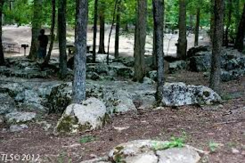 RickWood Caverns features many wooded camping and hiking areas. Also, picnics are perfect with the beautiful views at the park.