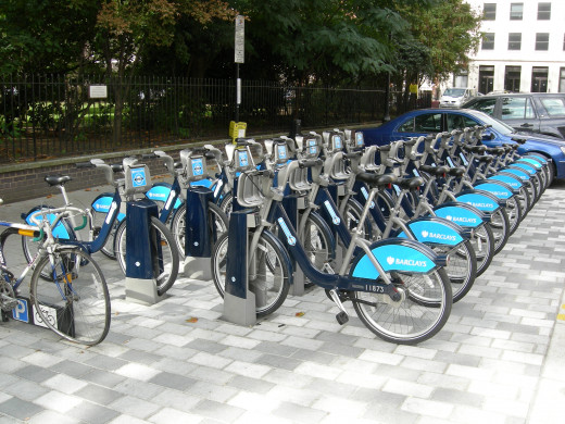 Barclay's Cycle Hire Station