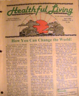 Natural Hygiene magazine from 1982,