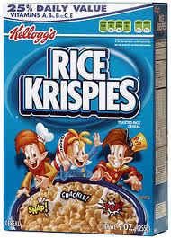 These original rice krispies work the best.  I think they stay the crunchiest.