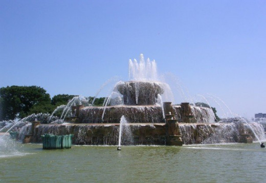 Buckingham Fountain, Chicago, IL