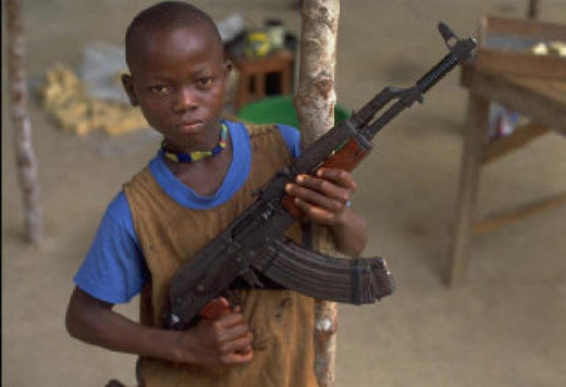A Child Soldier from Sierra Leone