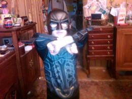 My son, Batman