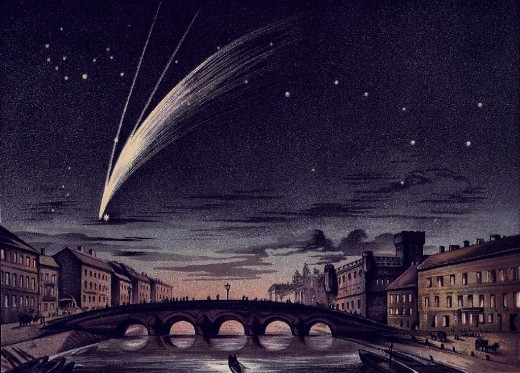 Comet Donati 1858